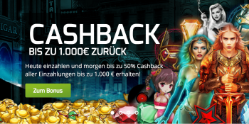 Bis zu 50 % Cashback auf die neuen Microgaming-Slots im Lapalingo Casino sichern