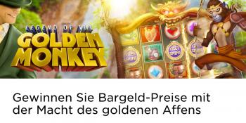 Mit der Macht des goldenen Affen im Mr Green Casino gewinnen