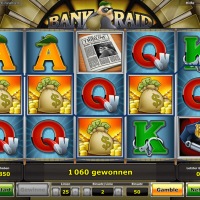 Bank Raid von Novoline