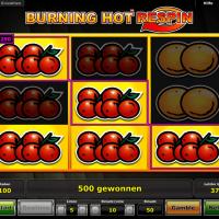 Burning Hot Respin von Novoline
