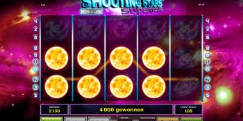 Shooting Stars Supernova von Novoline