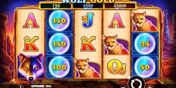 Wolf Gold von Pragmatic Play