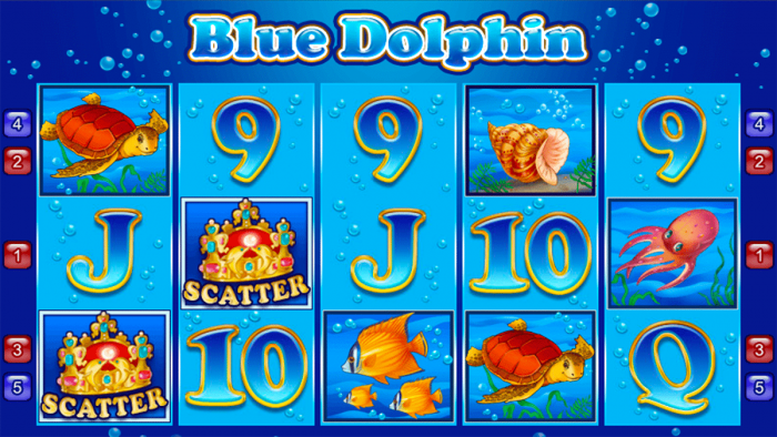 Blue Dolphin von Amatic