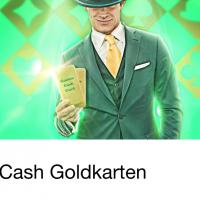 Es gibt wieder Cash Goldkarten im Mr Green Casino