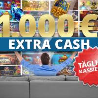 Im Sunmaker Casino gibt es täglich 1.000 € Extra Cash