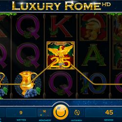 Luxury Rome HD von iSoftBet