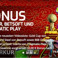 5 neue Spielautomaten und einen 10 Euro Bonus gibt es im Lapalingo Casino
