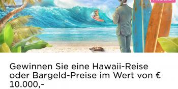 Eine Hawaii Reise im Mr Green Casino gewinnen