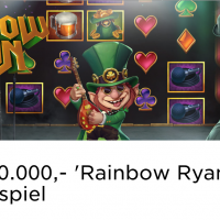 Im Mr Green Casino läuft das 20.000 Euro Rainbow Ryan Gewinnspiel