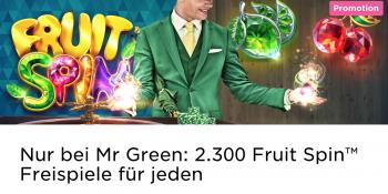 Roulette im Mr Green Casino spielen und Freispiele sichern