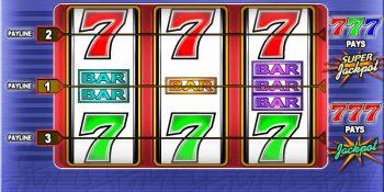 Super Sevens Slot von IGT