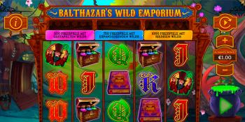 Balthazar's Wild Emporium Spielautomat