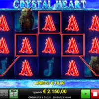 Crystal Heart von Merkur