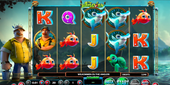The Angler von Betsoft Gaming