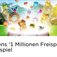 Im Mr Green Casino läuft das 1 Million Freispiele Gewinnspiel