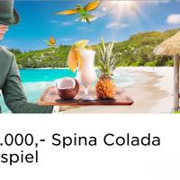 Im Mr Green Casino läuft das Spina Colada Gewinnspiel