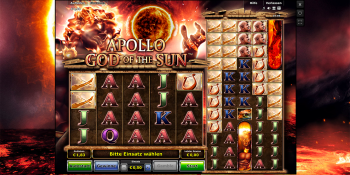 Apollo God of the Sun von Novomatic