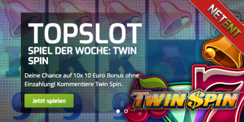 Der Top-Slot der Woche im Lapalingo Casino ist Twin Spin